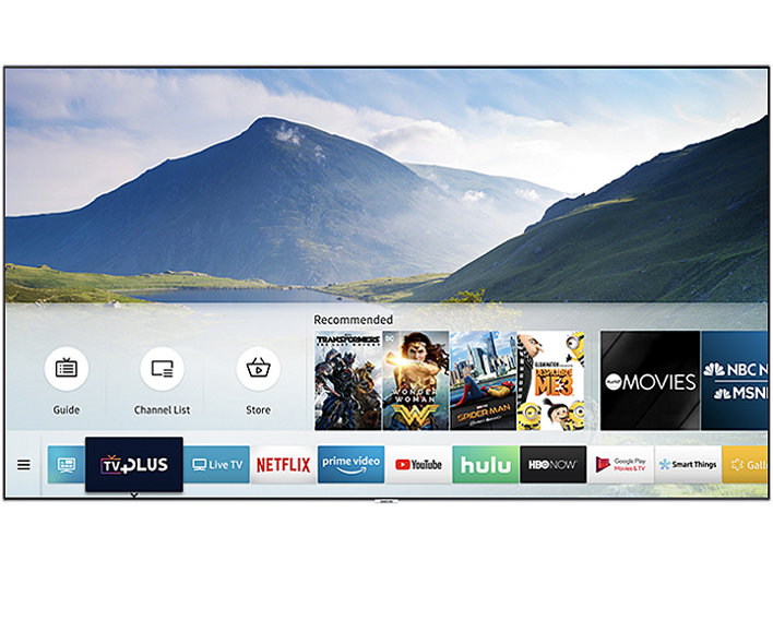 samsung 55 qled 4k ultra hd tv with hdr q7fn series. Black Bedroom Furniture Sets. Home Design Ideas