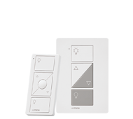 Lutron Caséta Plug-in Lamp Dimmer with Pico Remote Control Expansion Kit (P-PKG1P-WH)