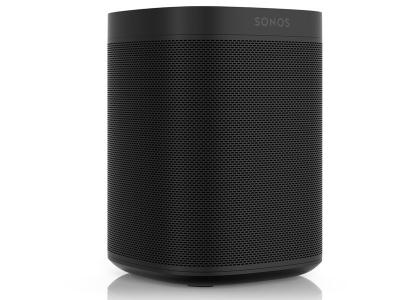 Sonos ONE Compact Wireless Network Speaker with Voice Commands (Black) - Open Box