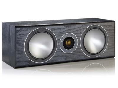 Monitor Audio Bronze Center Speaker - Black Oak (Each) - Open Box