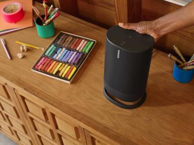 Sonos MOVE Portable WiFi & Bluetooth Wireless Speaker