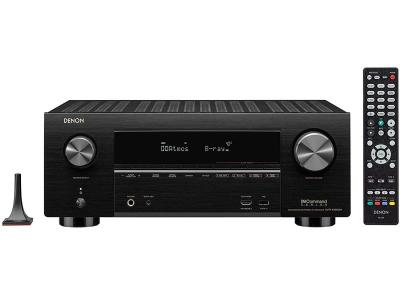 Denon AVR-X3600H 9.2 Channel 4K UHD Dolby Atmos Receiver with HEOS Built-in