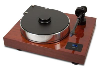 Project  Audio Manual turntable with build in Pro-Ject Speed Box SE - Xtension 12 Evolution - Mahogany- PJ35822420