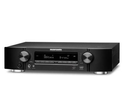 Marantz NR1710 Slim 7.2 Channel 4k Ultra HD AV Receiver with HEOS Built-in