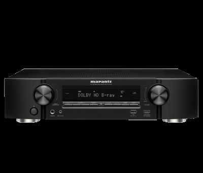 Marantz NR1510 Slim 5.2 Channel 4k Ultra HD AV Receiver with HEOS Built-in