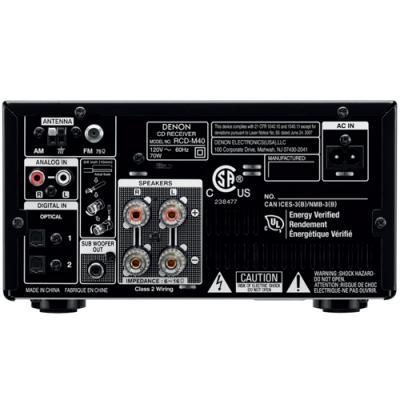 Denon D M40 Micro Component Cd Receiver System