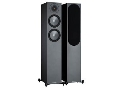 Monitor Audio Bronze 200 Floorstanding Speakers - Black (Sold as Pair)
