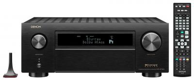 Denon 11.2 Channel 8K AV Receiver with 3D Audio, HEOS Built-in and Voice Control - AVRX6700H