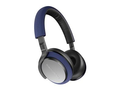 Bowers & Wilkins PX5 Wireless On-Ear Noise Cancelling Headphones (Blue)