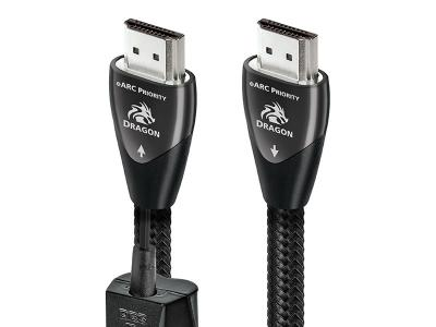 Audioquest Dragon eARC HDMI Cable with 72v DBS - 8K-10K 48Gbps (0.75 Meter)