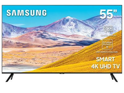 "55"" Samsung UN55TU8000FXZC Smart 4K UHD TV"
