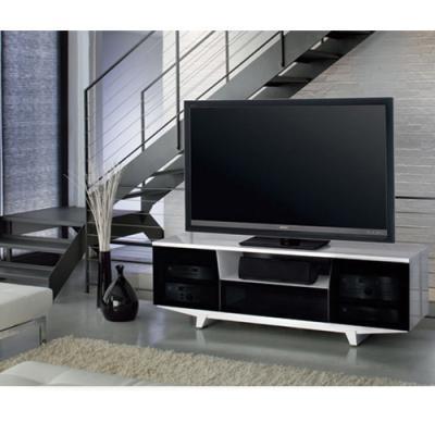 BDI MARINA Triple-wide Enclosed Cabinet - Gloss Black (8729)