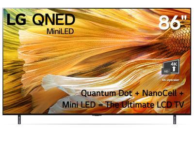 "LG QNED 86"" Mini LED 4k Smart NanoCell TV - 86QNED90 (QNED90 Series)"