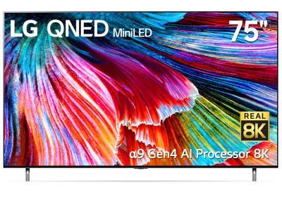 "LG QNED 75"" 8K Mini LED Smart TV - 75QNED95 (QNED95 Series)"