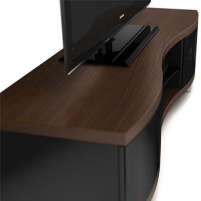 BDI OLA Triple-wide Low Cabinet - Chocolate Stained Walnut (8137)
