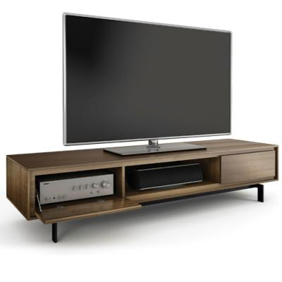 BDI SIGNAL Triple-wide Low Cabinet - Natural Walnut (8323)