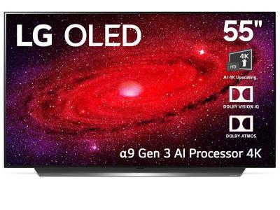 "LG 55"" OLED 4k TV (CX Series) - OLED55CX - (Display Model)"