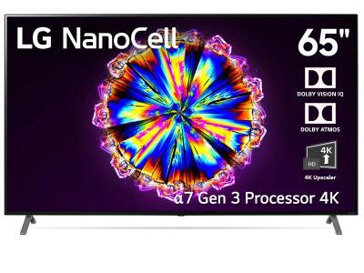 "LG 65"" AI ThinQ UHD 4K Smart TV (NanoCell 90 Series) - 65NANO90"