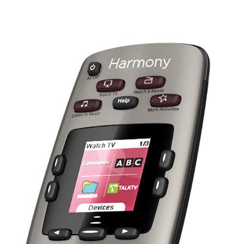 logitech harmony 650 color screen universal remote. Black Bedroom Furniture Sets. Home Design Ideas