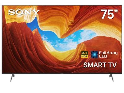 "Sony Bravia 75"" LED 4K UHD HDR Full Array Smart TV - XBR75X900H (X900H Series)"