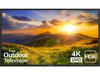"65"" Signature 2 Series 4K Ultra HDR Partial Sun Outdoor TV - Black (SB-S2-65-4K-BL)"