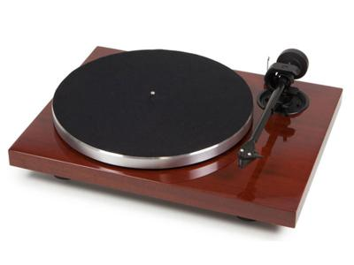 Pro-Ject 1Xpression Carbon Classic Audiophile 2-speed Turntable - 2M-Silver (Mahogany)