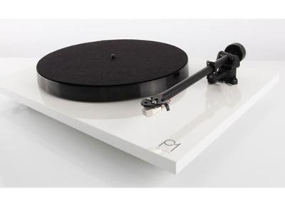 Rega Planar 1 (P1) Turntable - White Gloss