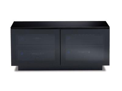 BDI MIRAGE Double-wide low Cabinet - Black (8224)