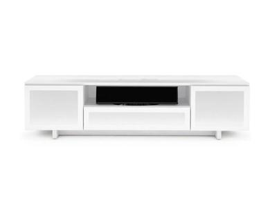 BDI NORA Triple-wide Low Cabinet - Gloss White (8239)