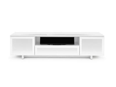 BDI NORA SLIM Triple-wide Cabinet - Gloss White (8239-S)