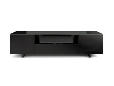 BDI NORA SLIM Triple-wide Cabinet - Gloss Black (8239-S)