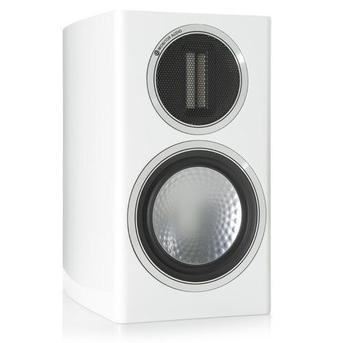 Monitor Audio Gold 100 Bookshelf Speakers White Pair