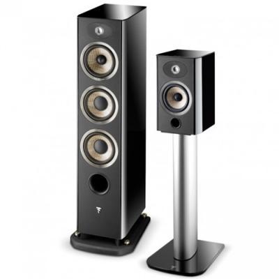 Focal Aria 905 2-Way Bass-Reflex Bookshelf Loudspeaker - Piano Black (Pair)