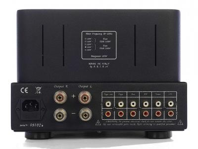 Unison Research SIMPLY ITALY Class A Integrated Stereo Tube Amplifier - Black (12 + 12 W RMS)