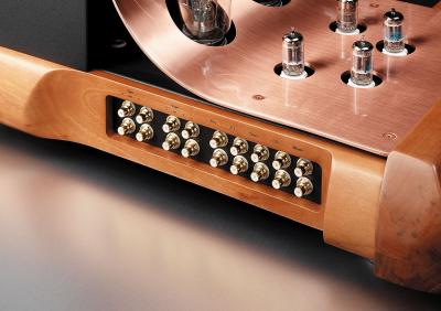 Unison Research ABSOLUTE 845 Dual Mono Stereo Integrated Tube Amplifier (40 + 40 W RMS)