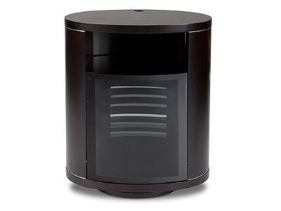 BDI REVO Single-wide Rotating Cabinet - Espresso Stained Oak (9980)