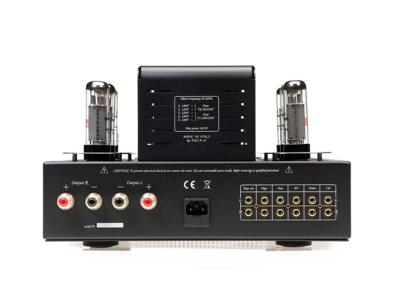 Unison Research S6 Class A Integrated Stereo Tube Amplifier - Black (30 + 30 W RMS)