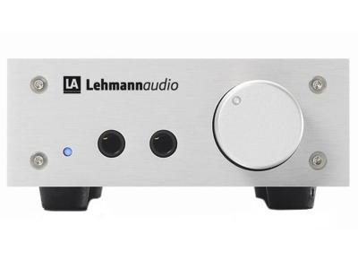 Lehmann Audio LINEAR Headphones Amplifier with 3 Gain Settings (Silver)