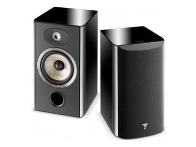 Focal Aria 906 2-Way Bass Reflex Bookshelf - Piano Black (Pair)