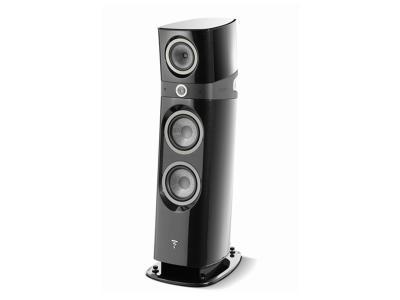 Focal SOPRA N°3 Floorstanding 3 way Bass Relfex Speaker - Black High Gloss (Pair)