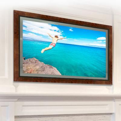 """Seura 65"""" 4k UHD Vanishing Entertainment  Mirrored TV"""