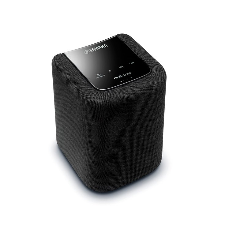 yamaha wx010 wireless bluetooth speaker with airplay black. Black Bedroom Furniture Sets. Home Design Ideas