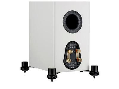 Monitor Audio SILVER 200 Compact Floorstanding Speakers - Satin White (Pair)