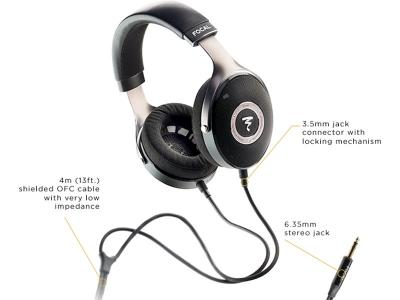 Focal ELEAR High-Fidelity Over-Ear Headphones