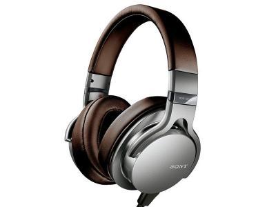 Sony MDR-1ADAC On-ear Built-in DAC Headphones (Silver)