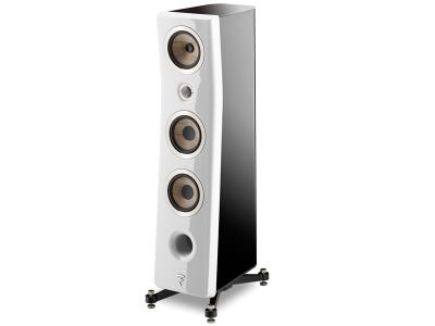 Focal KANTA No2 Floorstanding 3-way Bass Relfex Speaker - Gloss Carrara White (Pair)
