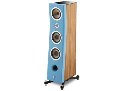 Focal KANTA No2 Floorstanding 3-way Bass Relfex Speaker - Mat Blue