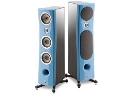 Focal KANTA No2 Floorstanding 3-way Bass Relfex Speaker - Gloss Blue