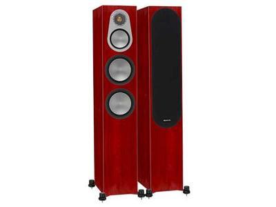 Monitor Audio SILVER 300 Audiophile Floorstanding Speaker - Rosenut (Pair)