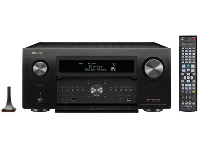 Denon AVR-X8500H Powerful 13.2 Channel 4K Home Theater AV Receiver - Black